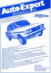 polski fiat 125p finn special