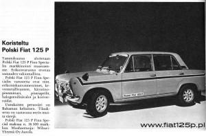 polski fiat 125p finn special 1973 yellow bahama
