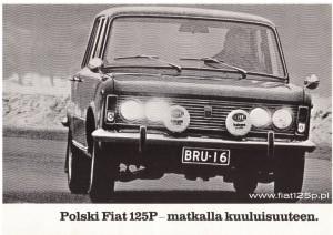 fiński finlandia 1971 polski fiat 125p finn special