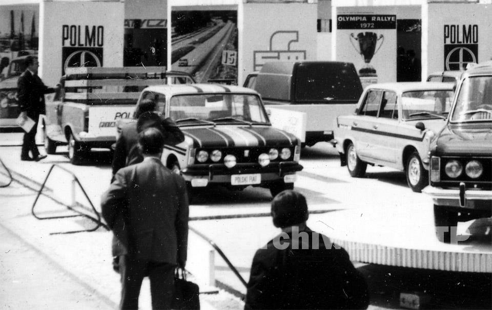 fiat 125p akropolis MTP 1974