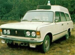 sanitarka 125p prototyp 1975